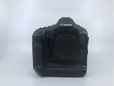 Canon EOS 1D X 18.1MP Digital SLR Camera - Black (Body Only) With Warranty Card