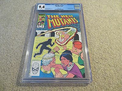 New Mutants  9 1St App Selene Cgc 9 4 1983 Marvel White Pages See My Store