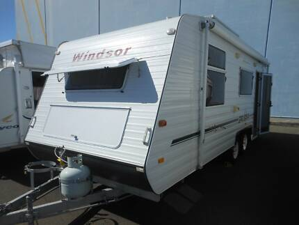 2006 Windsor Genesis Ensuite Touring Caravan SN1581