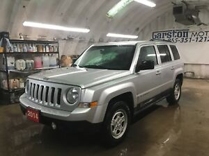 2014 Jeep Patriot NORTH 4WD ***Pay $55.72 w/ ZERO down!