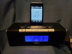 Haier ACR1 Auto Clock Set Radio with iPod Dock  Free Shipping