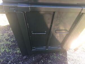 6m skip bins with door suit skip truck Palmwoods Maroochydore Area Preview