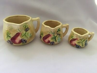 Vintage Measuring Cups Set of 3 Made in Japan