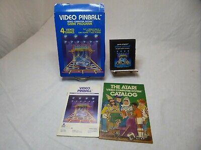 Atari 2600 Video Pinball Complete