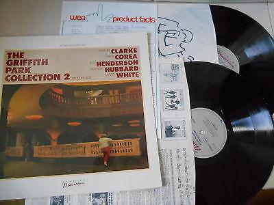 LP VA Griffith Park Collection 2 / 2LP (6 Song) ELEKTRA MUSICIAN OIS / Presskit