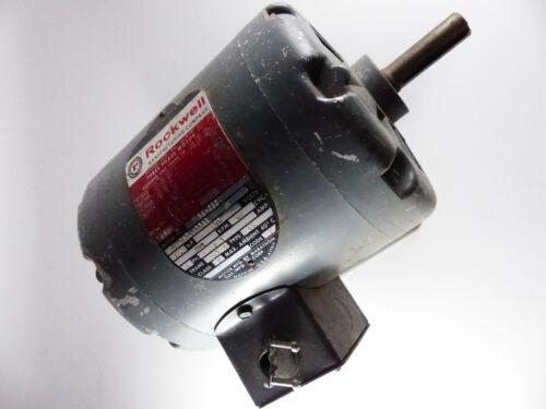"""Vintage Delta Rockwell 1/2 HP Motor 5/8"""" Shaft"""
