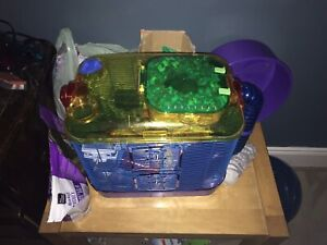 Hamsters and cages for sale