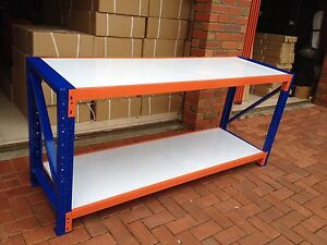 Work Bench/Storage Racking/Shelves/Table 2mX0.9mX0.6m ~BRAND NEW~ Hope Valley Tea Tree Gully Area Preview
