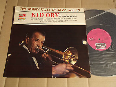 KID ORY AND HIS CREOLE JAZZ BAND - THE MANY FACES OF JAZZ VOL. 15 - LP