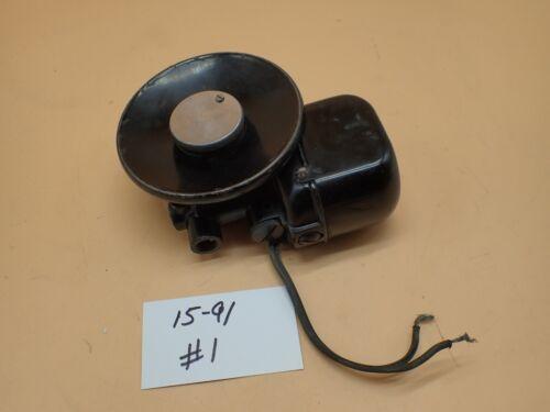 Vintage Original Singer 15-91 Sewing Machine Gear Drive Potted Motor TESTED # 1