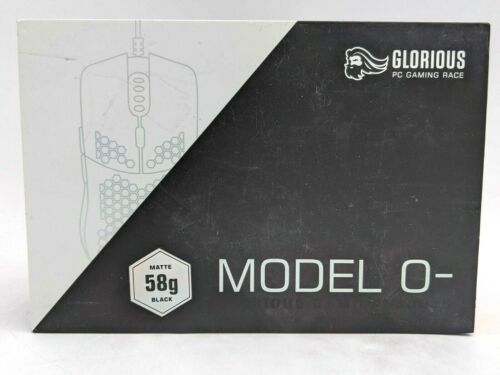 New Glorious Model O- RGB Gaming Mouse - Matte Black -NR3746