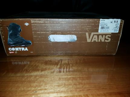 Snowboarding boots Vans Contra Size 9.5