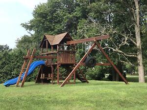 Kids playground /Cedar very large
