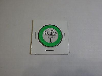 Four Queens 1 Las Vegas, Nevada Roulette Chip