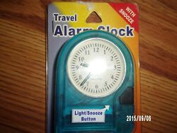Travel Talking Alarm Clock / Batteries Included #1101