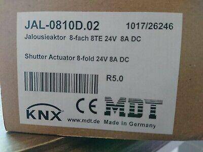 MDT KNX Jalousieaktor 8-fach 24V