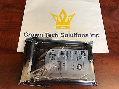 """Dell 0W347K W347K W348K 600GB 6G 15K 3.5"""" SAS NEW Hard Drive W/ Tray 0HRS OF USE"""