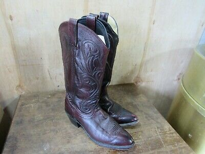 Dan Post Womens Black Cherry Cowboy Boots Size 7 **Low Price**](Boots Low Price)