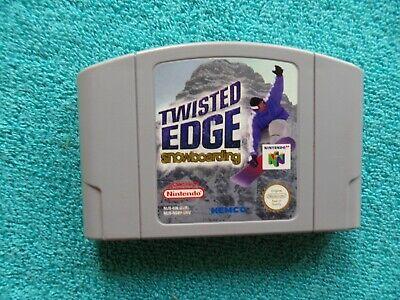TWISTED EDGE SNOWBOARDING - N64 / nintendo 64