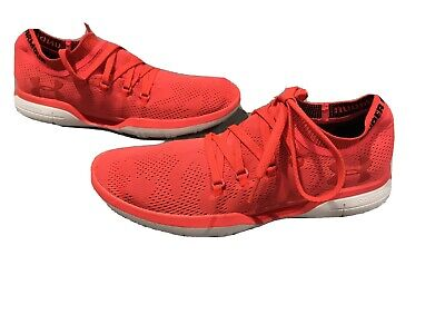 Under Armour Coolswitch Running Shoes Mens Size 9 Neon Orange