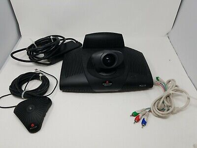 Polycom Viewstation Pvs-1419 Video Conference System With Accessories