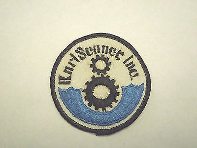 Karl Senner Inc, In Louisiana USA Sew On Patch-Gear Works, Boat, Machine Parts