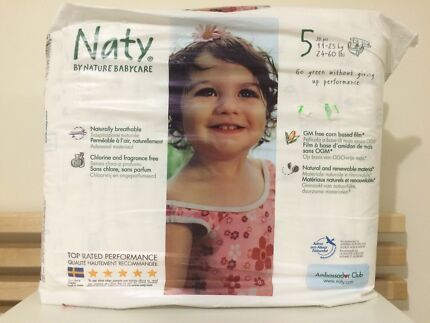 Naty by Nature Baby Care Nappies size 5 Ferntree Gully Knox Area Preview