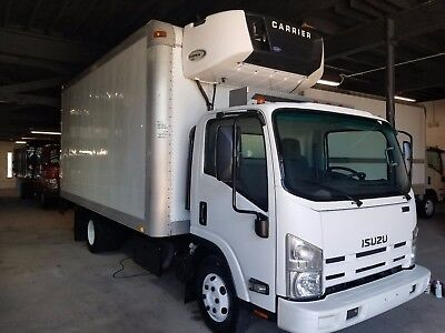 2012 Isuzu Npr Hd Refrigerated Truck W Carrier Supra 850 Unit    Tmp