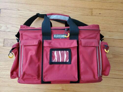 Blackhawk Red Fire / Rescue / EMS Equipment Gear Bag w/ Shoulder Strap
