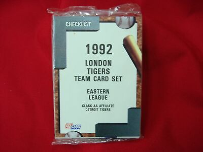 - 1992 LONDON TIGERS MINOR LEAGUE TEAM SET FLEER PROCARDS FACTORY SEALED VERY NICE
