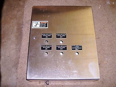 Hoffman Csd24208ss Stainless Steel Enclosure W Backplane 24 X 20 X 8 - Save