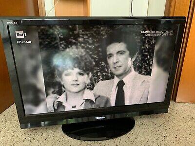 """TV LCD TOSHIBA 37"""" 37AV615DG USATO PERFETTAMENTE FUNZIONANTE"""
