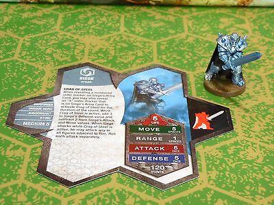 Siege Heroscape Wave 13/D3 Moltenclaw's Invasion