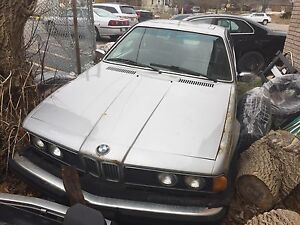 1984 BMW 633csi e24 5spd-parting out-shark