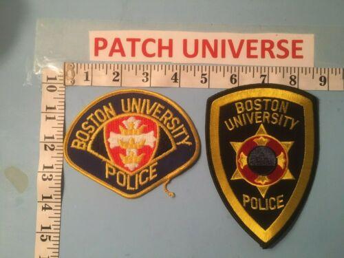 LOT OF 2 DIFFERENT BOSTON UNIVERSITY  SHOULDER PATCHES  M103