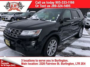 2016 Ford Explorer Limited, 3rd Row Seating, 4x4, 93, 000km