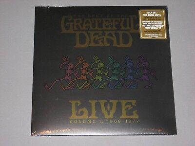 GRATEFUL DEAD Best Of Live Vol. 1 (1969-1977) 180g 2LP  New Sealed