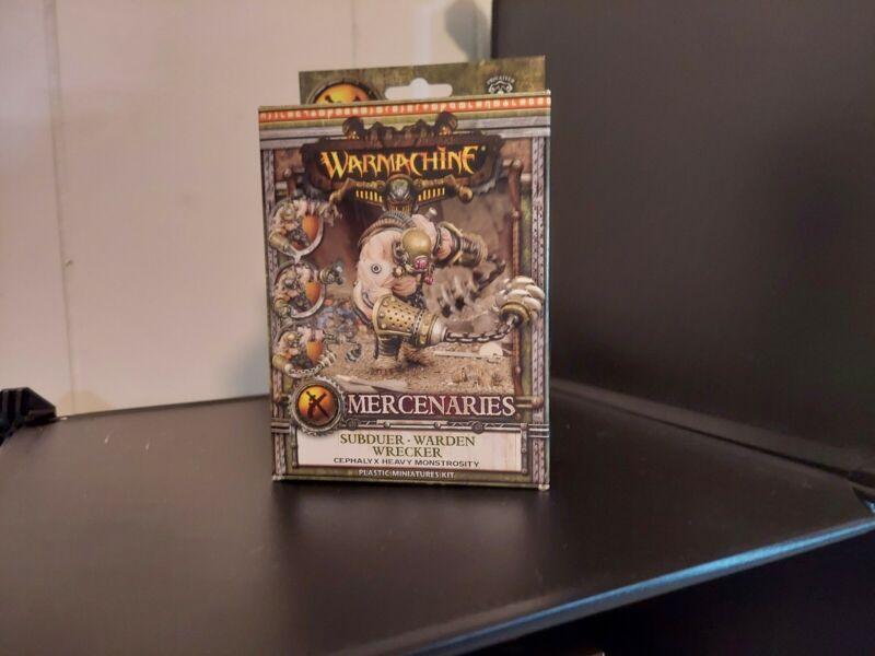 Warmachine Mercenaries Subduer/Warden/Wrecker PIP 41114
