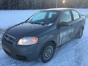 2009 Chevy Aveo LS 69000km hail damage