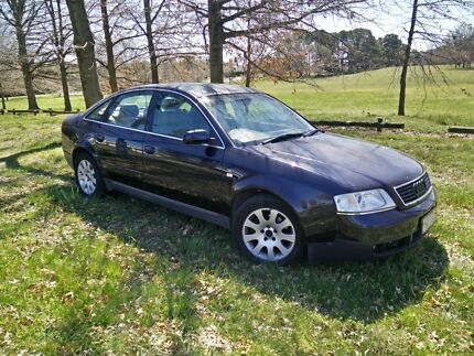 1998 Audi 2.8 A6 Quattro - long ACT rego, drives well, must sell Yarralumla South Canberra Preview