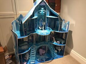 Anna and Elsa Frozen Castle