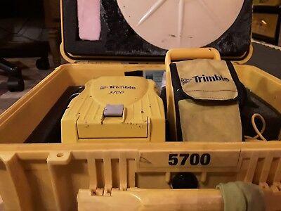 Trimble 5700 L1 L2 Gps Base Receiver 450-470 Mhz. W Zephyr Antenae.