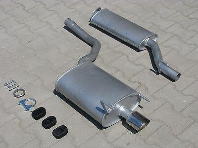 Auspuff für Mercedes CLK 200 230 C208 A208 Cabrio 2.0 2.3 Auspuffanlage *3300