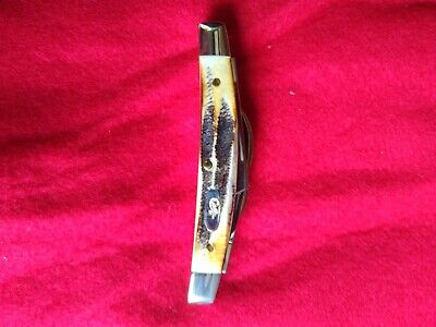 CASE XX 6.5468 SS SMALL CONGRESS KNIFE 2004 TESTED XX ANTLER STAG