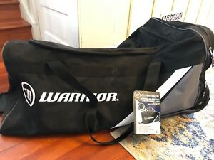"Warrior 38"" wheeled hockey bag"