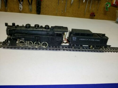 C-5 S scale American Flyer #342DC Nickel Plate Road 0-8-0 yard switcher w/smoke