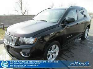 2017 Jeep Compass High Altitude 4x4 - Leather, Sunroof, Heated S