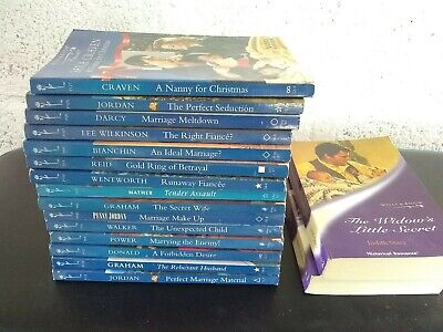 17 x MILLS & BOON books for sale / g- VG, used for sale  Shipping to South Africa