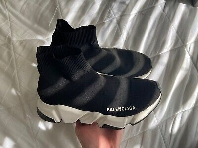 Women's Balenciaga Speed Trainer Size 5 US 100% Authentic With Receipt