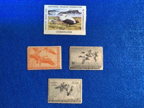 Vintage U.S.Migratory Bird Hunting Stamps/NWF Stamp